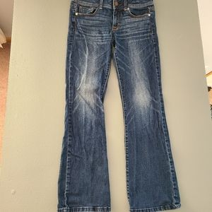 Womens American Eagle boot cut jeans